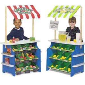 דוכן מכירות ירקות ולימונדה Melissa & Doug