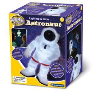 """אסטרונאוט זוהר מנורת לילה """"Brainstorm Toys"""""""