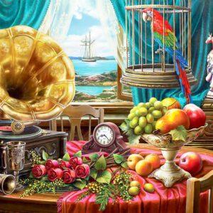 """פאזל """"טבע דומם עם פירות"""" – 1500 חלקים – anatolian"""