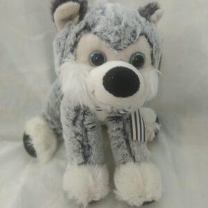 בובת כלב סיבירי נעימה ואיכותית