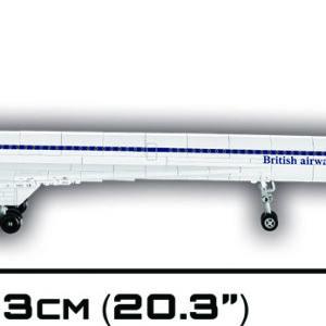 """בניה בלבנים """"מטוס קונקורד""""  COBI"""