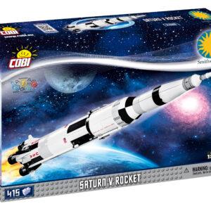 """בניה בלבנים """"טיל סאטורן 5"""" COBI"""