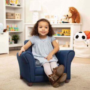 """כורסא לילדים – צבע כחול  """"Melissa and Doug"""""""