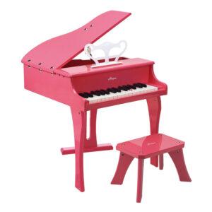 """פסנתר עץ כנף ורוד לילדים  """"HAPE"""""""