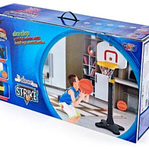 משחק כדורסל לילדים מתכוונן ל 5 גבהים + כדור